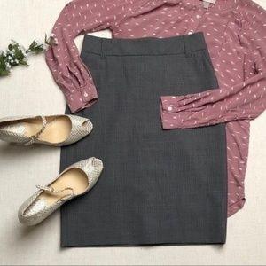 🔴 NWT Banana Republic Grey Pencil Skirt